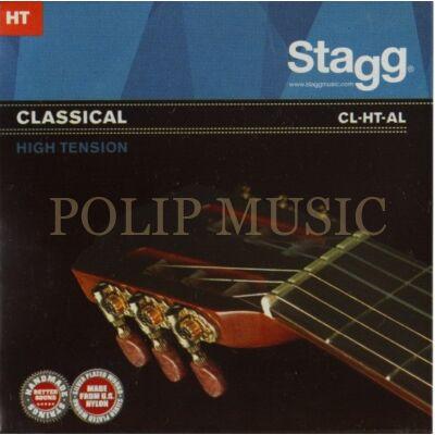 Stagg CL-HT-AL Nylon-Silver High tenson klasszikus gitárhúr szett