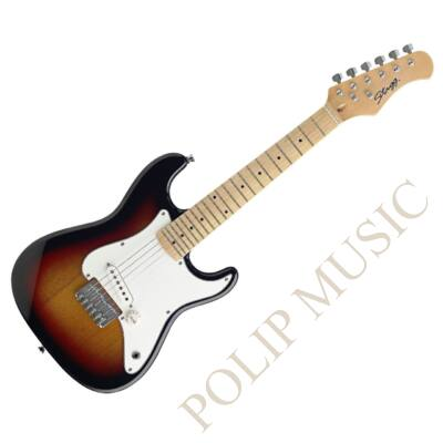 STAGG J-200 SB 3/4 elektromos gitár