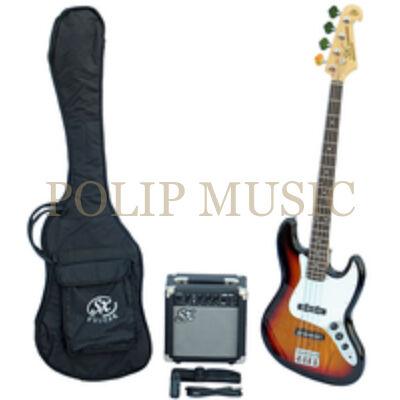 SX SB1-3TS basszusgitár szett