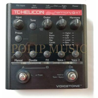 TC Helicon VoiceTone Harmony-G XT ének padló multieffekt