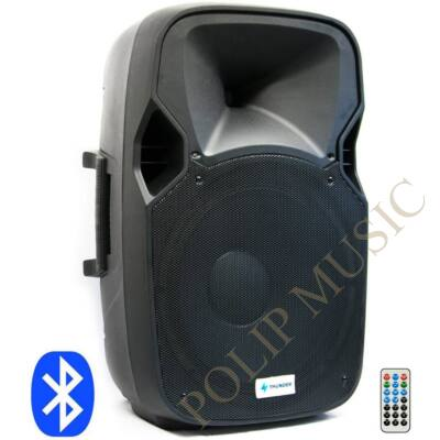 Thunder Audio DXA-15BT 400/800W (38 cm)  (MP3 + Bluetooth + FM aktív hangfal