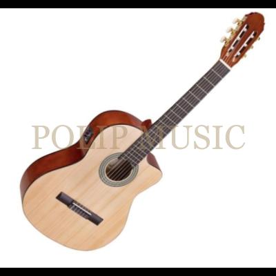Toledo Primera Spuce CE 44 NT elektro-klasszikus gitár