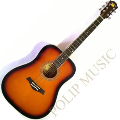 Uniwell CD-02 SB akusztikus gitár