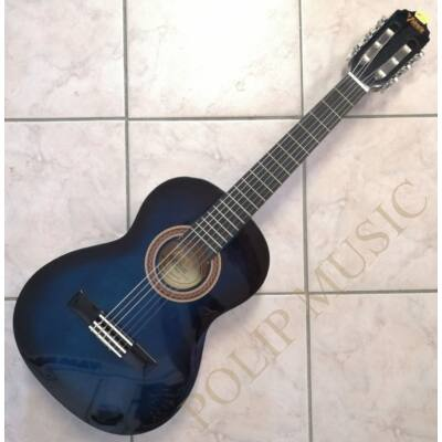 Valencia VC102 Blue Sunburst 3/4 Klasszikus gitár