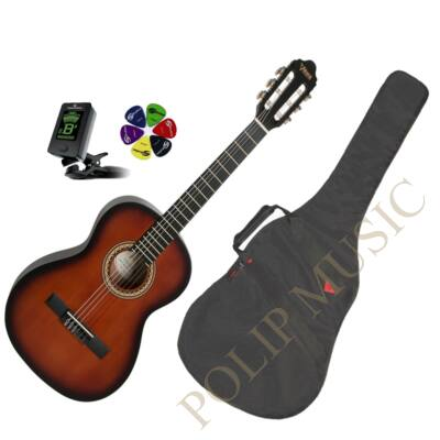 Valencia VC203 3/4 Sunburst klasszikus gitár szett
