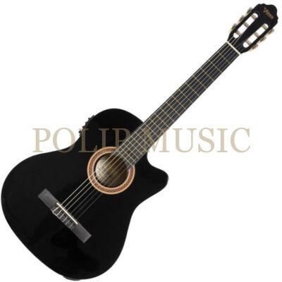 Valencia VC104CE BK elektro-klasszikus gitár