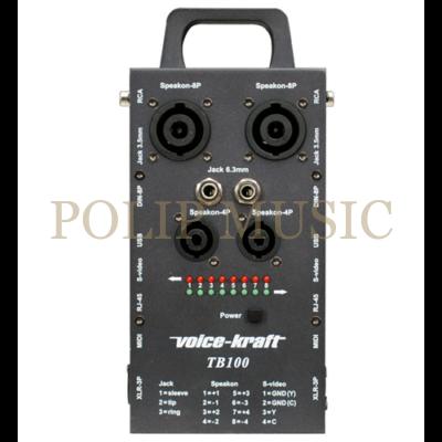 Voice-Kraft TB-100 Kábel teszter
