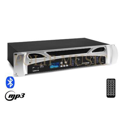 Vonyx VPA1000 2x500W, Bluetooth + REC felvétel végerősítő