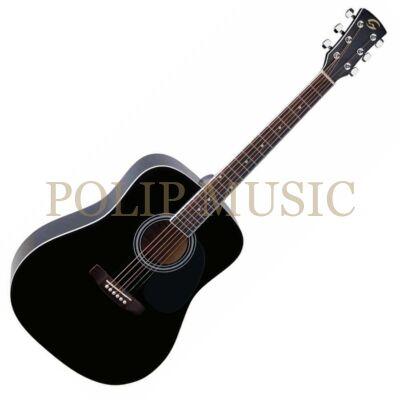 Soundsation Yosemite DN BK akusztikus gitár