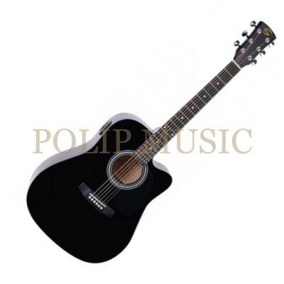 Soundsation Yellowstone DNCE BK elektroakusztikus gitár