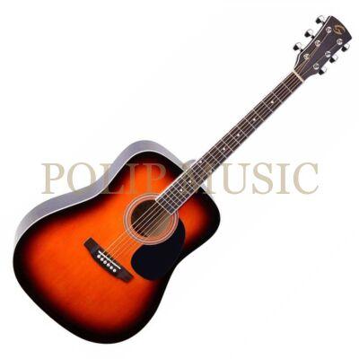 Soundsation Yellowstone DN SB akusztikus gitár