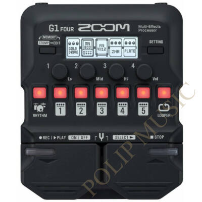 Zoom G1 Four Guitar Pedal - Multieffect