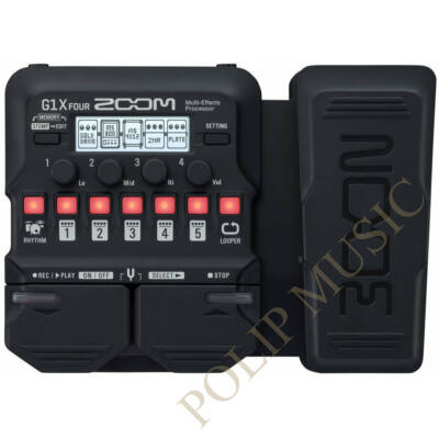 Zoom G1X Four Guitar Pedal Multieffect